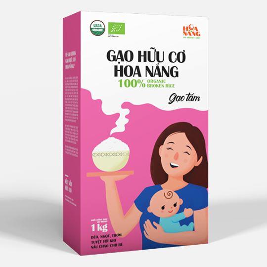 Gạo tấm hữu cơ - LEDIUN VietNam™